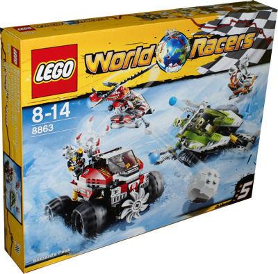 LEGO 8863 Schneesturm in der Antarktis Spielzeug Berlin Teltow