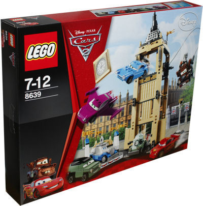LEGO Cars 8639 Einsatz am Big Bentley