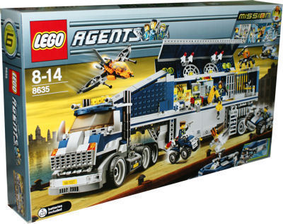 Lego Agents Mission 6 LEGO Agents 8635 Missi...