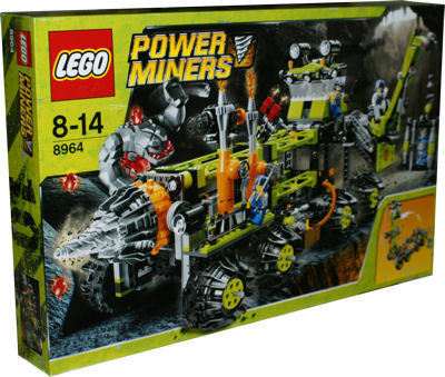 LEGO Power Miners 8964 Mobile Bohrstation