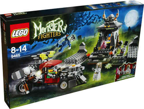 LEGO Monster Fighters 9465 Grabstätte der Zombies
