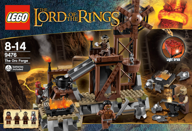 lego the lord of the ring 9476 die ork schmiede berlin teltow. Black Bedroom Furniture Sets. Home Design Ideas