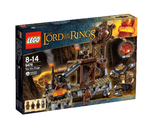 LEGO The Lord of the Ring 9476 Die Ork-Schmiede