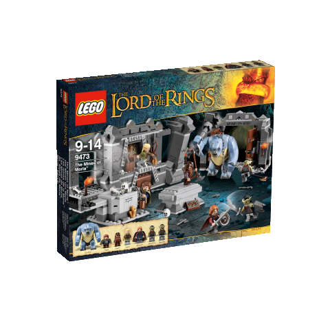 LEGO The Lord of the Ring 9473 Die Minen von Moria