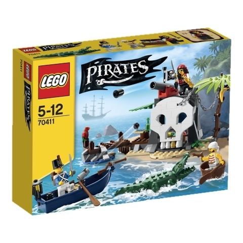 LEGO Piraten 70411 Piraten-Schatzinsel