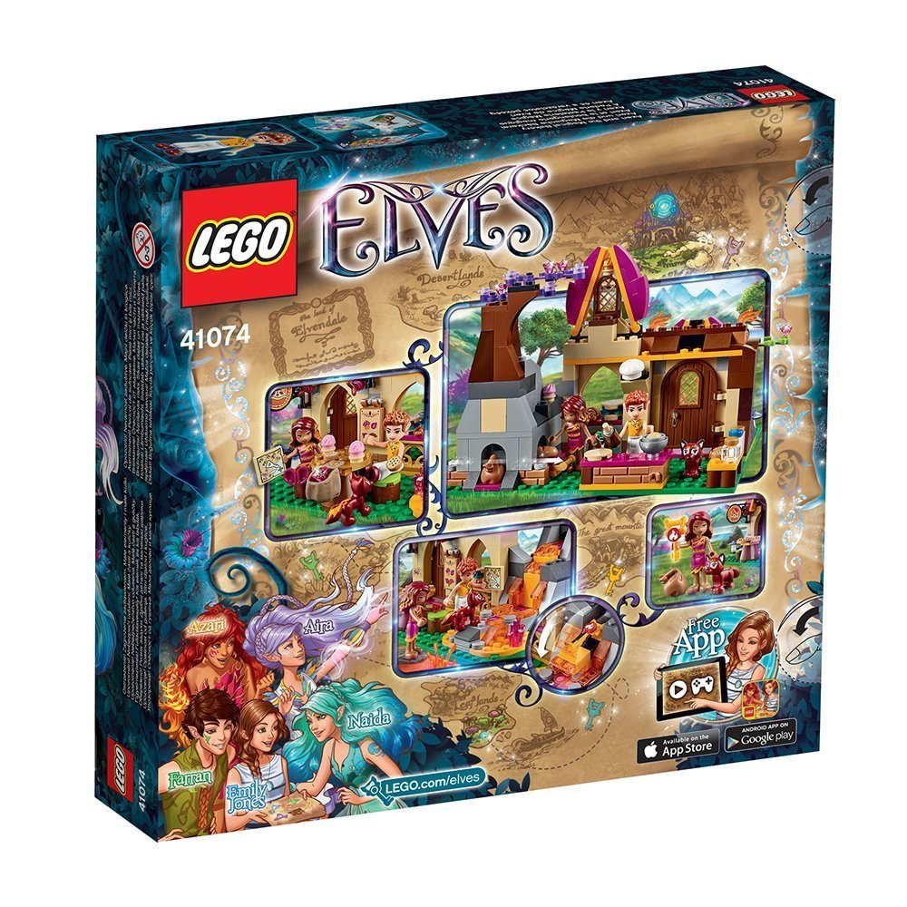 lego elves 41074 azari und die magische b ckerei miwarz berlin. Black Bedroom Furniture Sets. Home Design Ideas