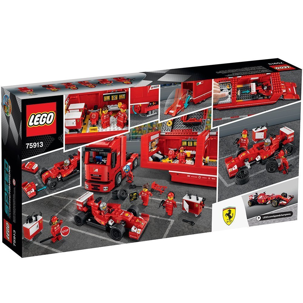 lego speed champions 75913 f14 t und scuderia ferrari berlin sto. Black Bedroom Furniture Sets. Home Design Ideas