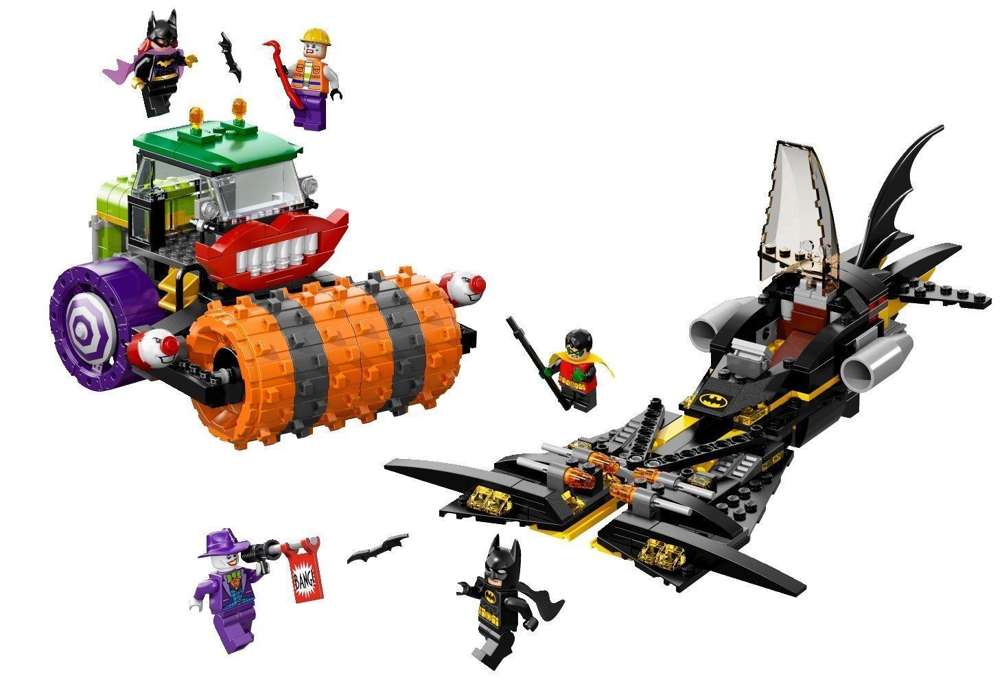 Lego super heroes 76013 batman jokers dampfroller miwarz for Roller potsdam