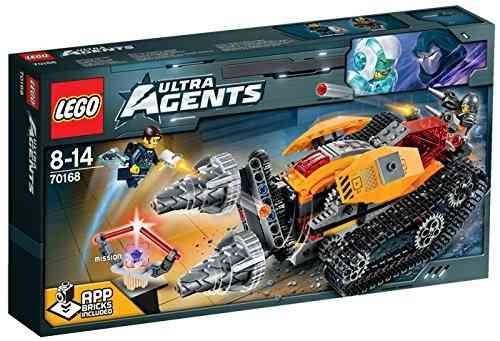LEGO Ultra Agents 70168 Drillex Diamanten Diebstahl