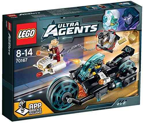 LEGO Ultra Agents 70167 Invizable's Goldraub