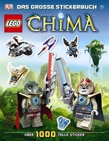 LEGO® Legends of Chima™ Das große Stickerbuch
