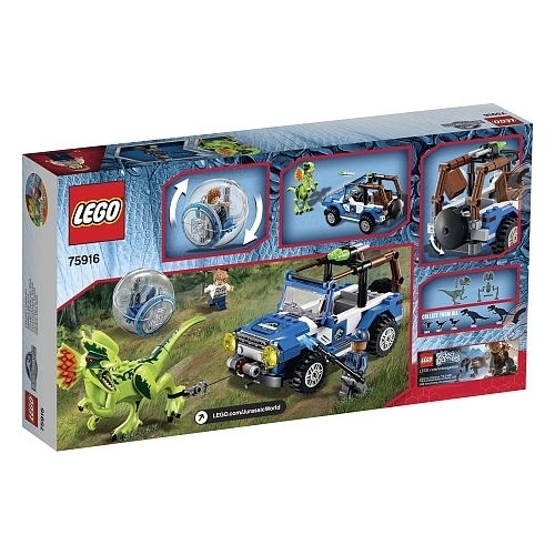 lego jurassic world 75916 berfall des dilophosaurus g nstig. Black Bedroom Furniture Sets. Home Design Ideas