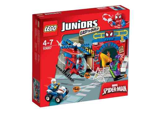 LEGO Juniors 10687 Spider Man Versteck