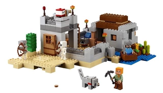 lego minecraft 21121 der w stenau enposten online g nstig kaufen. Black Bedroom Furniture Sets. Home Design Ideas