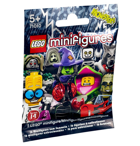 LEGO Minifiguren 71010 Monster, Serie 14