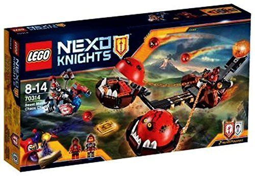 LEGO Nexo Knigths 70314 Chaos Kutsche des Monster Meisters