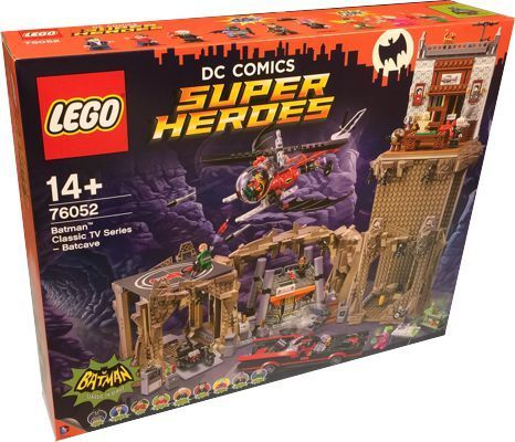 LEGO Super Hereos 76052 Bathöhle