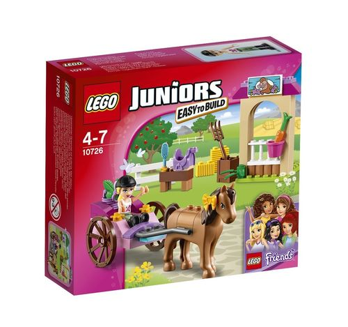 LEGO Juniors 10726 Stephanies Pferdekutsche