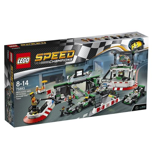 LEGO Speed Champions 75883 MERCEDES AMG PETRONAS Formula One™ Team