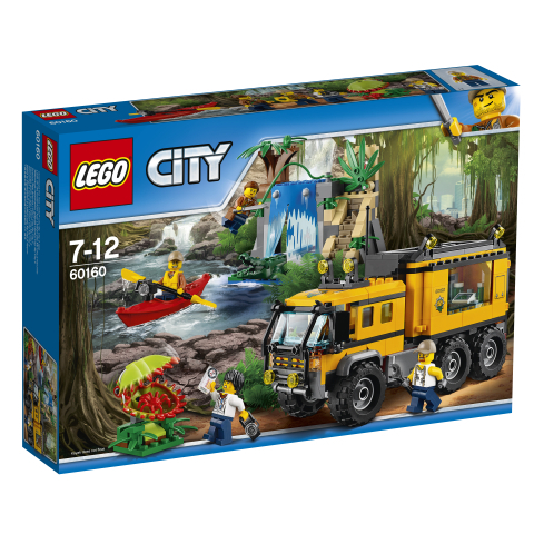 LEGO City 60160 Mobiles Dschungel-Labor