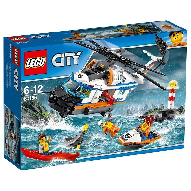 Lego City 60166 Seenot Rettungshubschrauber Berlin Potsdam