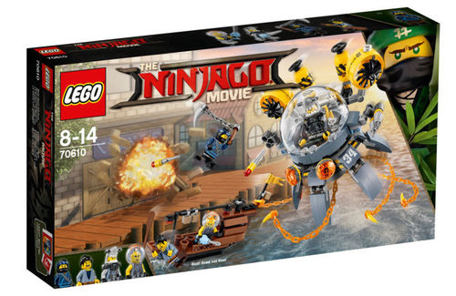 LEGO 70610 NINJAGO MOVIE™ Turbo Qualle