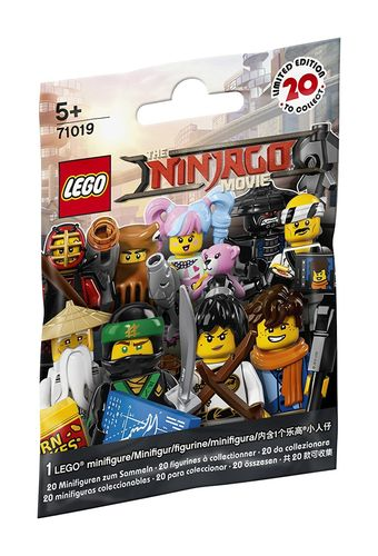LEGO Minifigures 71019 The Ninjago Movie 1 Tüte
