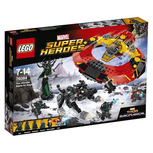 LEGO Super Heroes 76084 Das ultimative Kräftemessen um Asgard