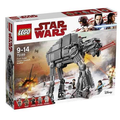 LEGO Star Wars 75189 First Order Heavy Assault Walker