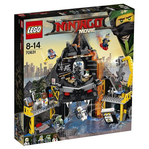 LEGO Ninjago Movie 70631 Garmadons Vulkanversteck