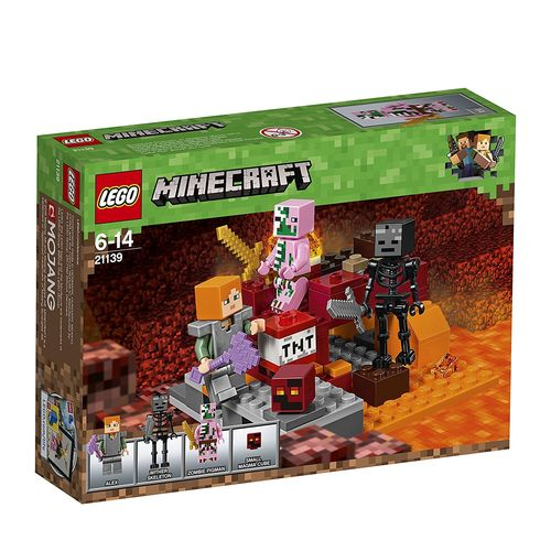 LEGO Minecraft 21139 Nether-Abenteuer Fight