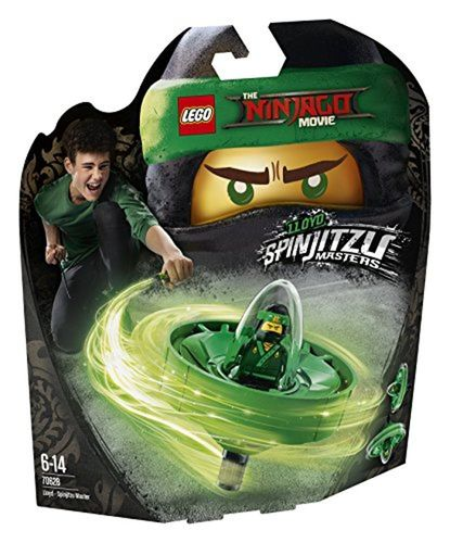 LEGO The Ninjago Movie 70628 Spinjitzu-Meister Lloyd