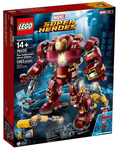 LEGO Super Heroes 76105 Der Hulkbuster: Ultron Edition
