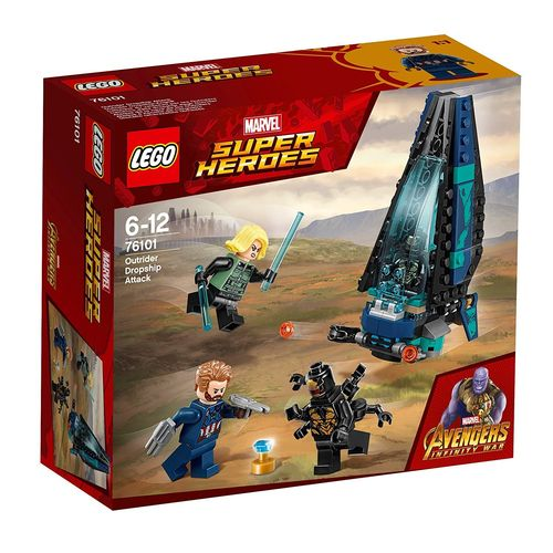 LEGO Marvel Super Heroes 76101 Outrider Dropship-Angriff