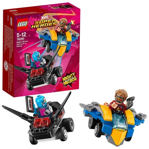 LEGO Marvel Super Heroes 76090 Mighty Micros Star-Lord vs. Nebula