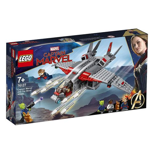 LEGO Super Heroes 76127 Captain Marvel und die Skrull-Attacke