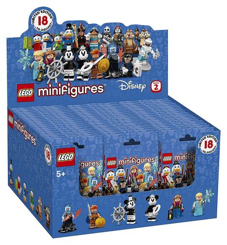 LEGO Minifiguren 71024 Disney Serie 2 Original VE 60 Tüten