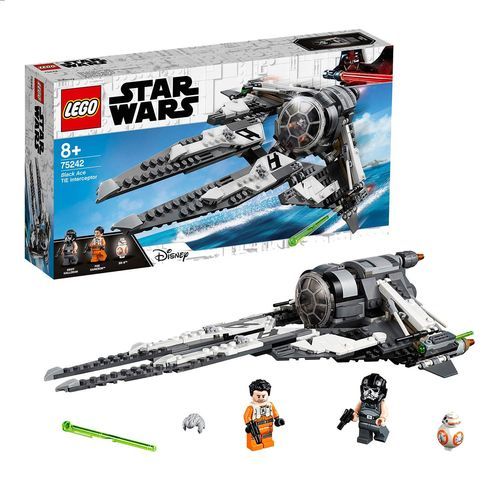 LEGO Star Wars 75242 Resistance Tie Interceptor Allianz-Pilot