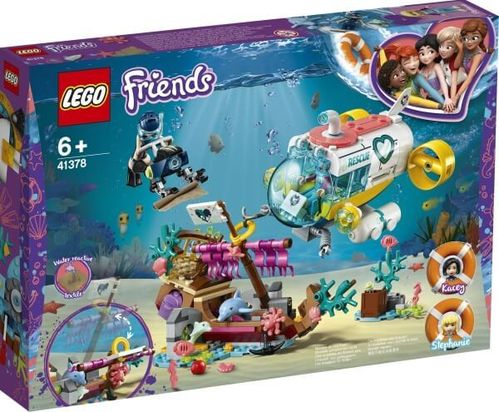 LEGO 41378 Friends Rettungs-U-Boot für Delfine